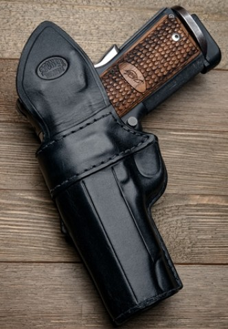 Stoner Black Stealth IWB (In Waistband) Concealed Carry Holster