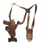 STORMER - Vertical Shoulder Holster with Tie Down